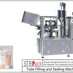 د SFS-100 پلاستيکي ټیوب ډکولو او سیل کولو ماشین